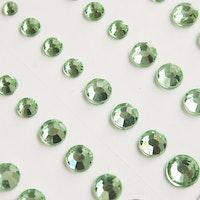 Light Green Rhinestone 60pcs