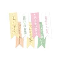 Piatek13 - Decorative tags The Four Seasons - Spring