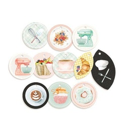 Piatek13 - Decorative tags Around the table 01