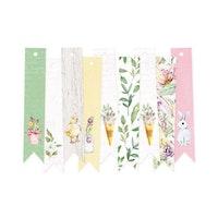 Piatek13 - Decorative tags The Four Seasons 03 - Spring