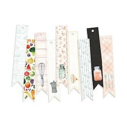 Piatek13 - Decorative tags Around the table 03