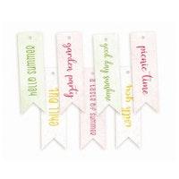 Piatek13 - Decorative tags The Four Seasons - Summer 02