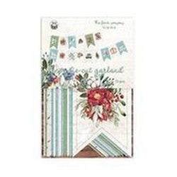 Piatek13 - Paper die cut garland The Four Seasons - Winter