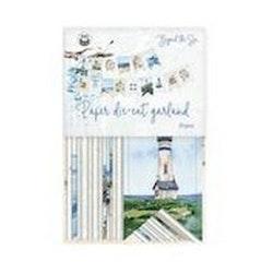 Piatek13 - Paper die cut garland Beyond the Sea