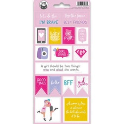 Piatek13 - Sticker sheet Girl Gang 02