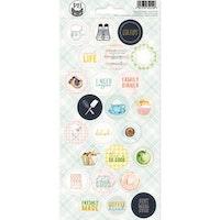 Piatek13 - Sticker sheet Around the table 03