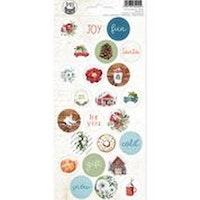 Piatek13 - Sticker sheet The Four Seasons - Winter 02