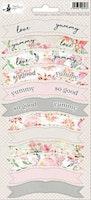 Piatek13 - Sticker sheet Party Love in Bloom 01