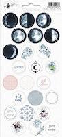 Piatek13 - Sticker sheet New moon 03