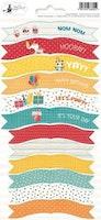Piatek13 - Sticker sheet Party Happy Birthday 01
