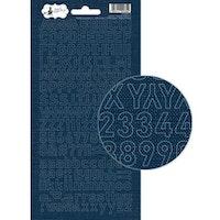 Piatek13 - Alphabet sticker sheet Soulmate 02