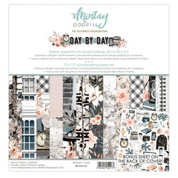 Mintay Papers - 12 X 12 PAPER SET - DAY BY DAY