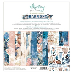 Mintay Papers - 12 X 12 PAPER SET - HARMONY