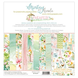 Mintay Papers - 12 X 12 PAPER SET - PARADISE