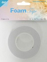 Joy! Crafts Foam Tape 1,5mm white 5mmx2mtr