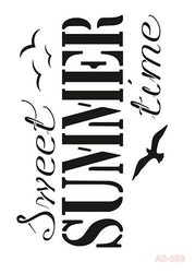 Cadence Mask Stencil AS - sweet summer time 03