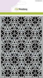 CraftEmotions Mask stencil - pattern ornament heart ...