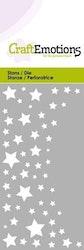 CraftEmotions Die - starry sky Card 5x10cm