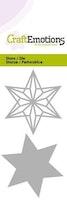 CraftEmotions Die - wire shape star Card 5x10cm