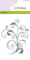 CraftEmotions Die - swirl Card 10,5x14,8cm