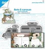 oy! Crafts Cut-emboss-debossdie - Car / Caravan