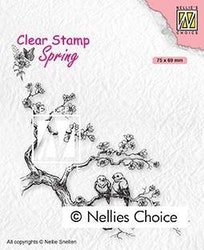 """NS CLEARSTAMP """"Spring Lovers"""""""