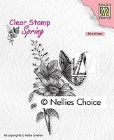 """NS CLEARSTAMP """"Butterfly"""""""