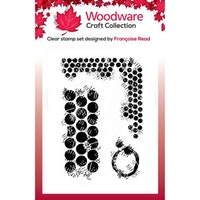 """Woodware Clearstamp """"Grungy Dots"""""""