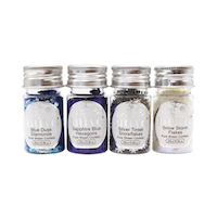 """Nuvo Pure Sheen 4 Pack """"Let it Snow Confetti"""""""