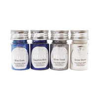 """Nuvo Pure Sheen 4 Pack """"Let it Snow Glitter"""""""