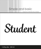 """Simple and Basic die """"Student"""""""
