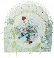 MARIANNE DESIGN CUT/EMB - Petra's Gate Folding Floral