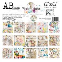 A.B Studio 6x6 paperpad - Pixie Dust