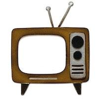 """SIZZIX/TIM HOLTZ BIGZ DIE """"Retro TV"""""""