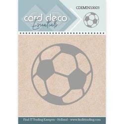 "Card Deco Mini Dies ""Football"""