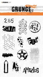 """Studio Light Clearstamp """"Grunge Collection 3.0"""""""