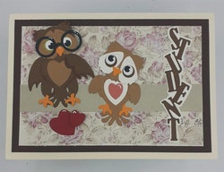 "BY LENE DIES ""Owls"""