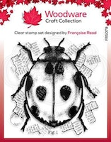 """Woodware Clearstamp """"Ladybird"""""""