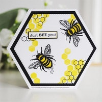 """Woodware Clearstamp """"Little bee"""""""