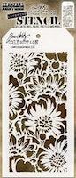 """TIM HOLTZ LAYERED STENCIL """"Bouquet"""""""