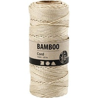 """Bamboo Cord """"Off-White"""""""