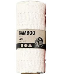 "Bamboo Cord ""White"""