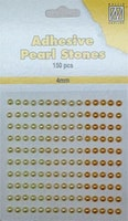 Nellie's Choice Paste pearls 4mm Yellow