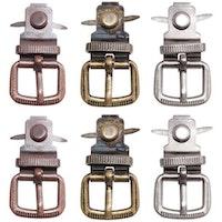 Tim Holtz Idea-Ology Metal Buckles 6/Pkg