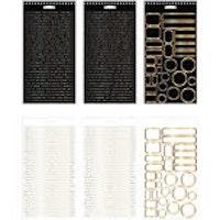 Tim Holtz Idea-Ology Spiral Bound Sticker Book 4.5X8.5 ...