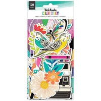 Vicki Boutin Ephemera Cardstock Die-Cuts 50/Pkg - Color ...