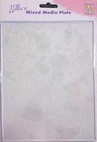NS Mixed Media Transparent Plate A5
