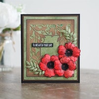 """Woodware Clearstamp """"Mini Scented Bloom"""""""