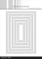 """Simple and Basic die """"Stamp - Rectangle"""""""