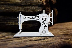 Chipboard - Vintage Boutique - Small sewing machine